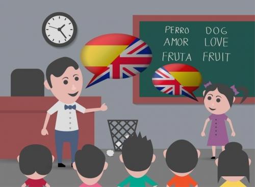 Aprendizado em duas línguas é muito positivo.